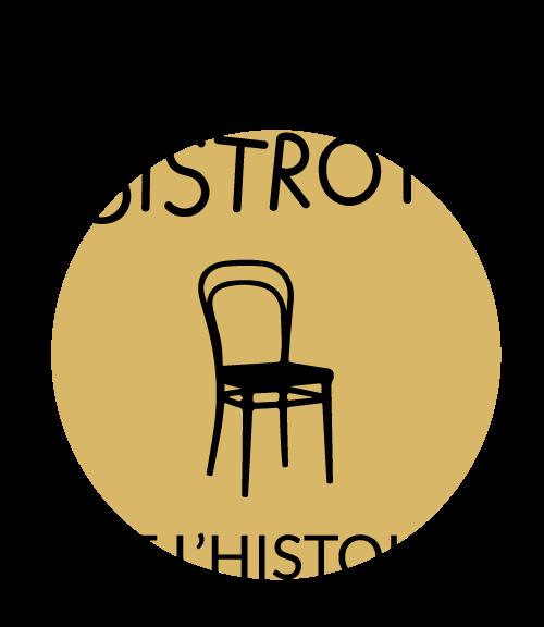 Logo Bistrots de l'histoire